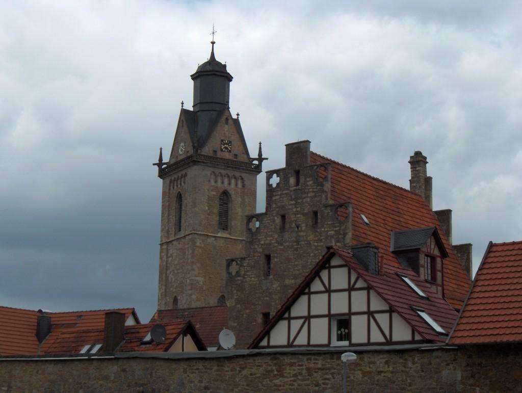 Korbach, Kilianskirche en Steinhaus