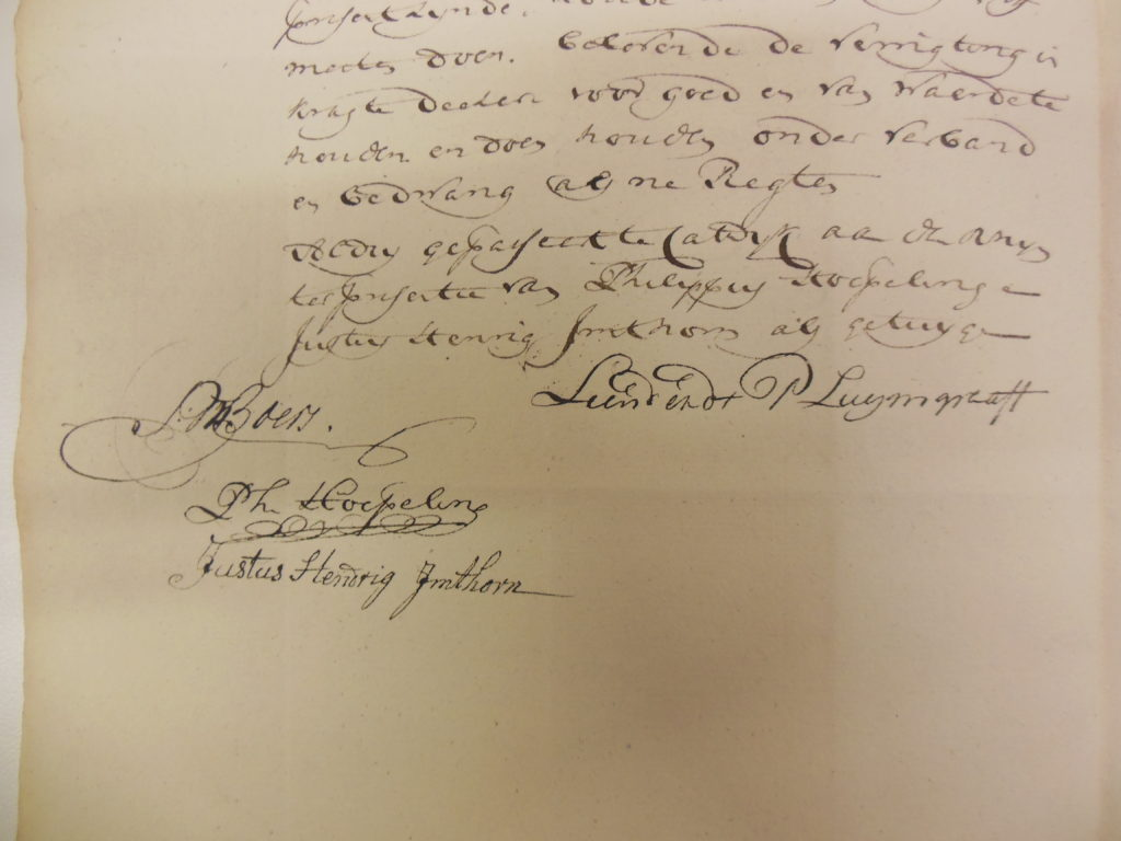 10.4.1786. Justus Hendrik getuige. [NA-3.03.08.072-inv.nr. 22]