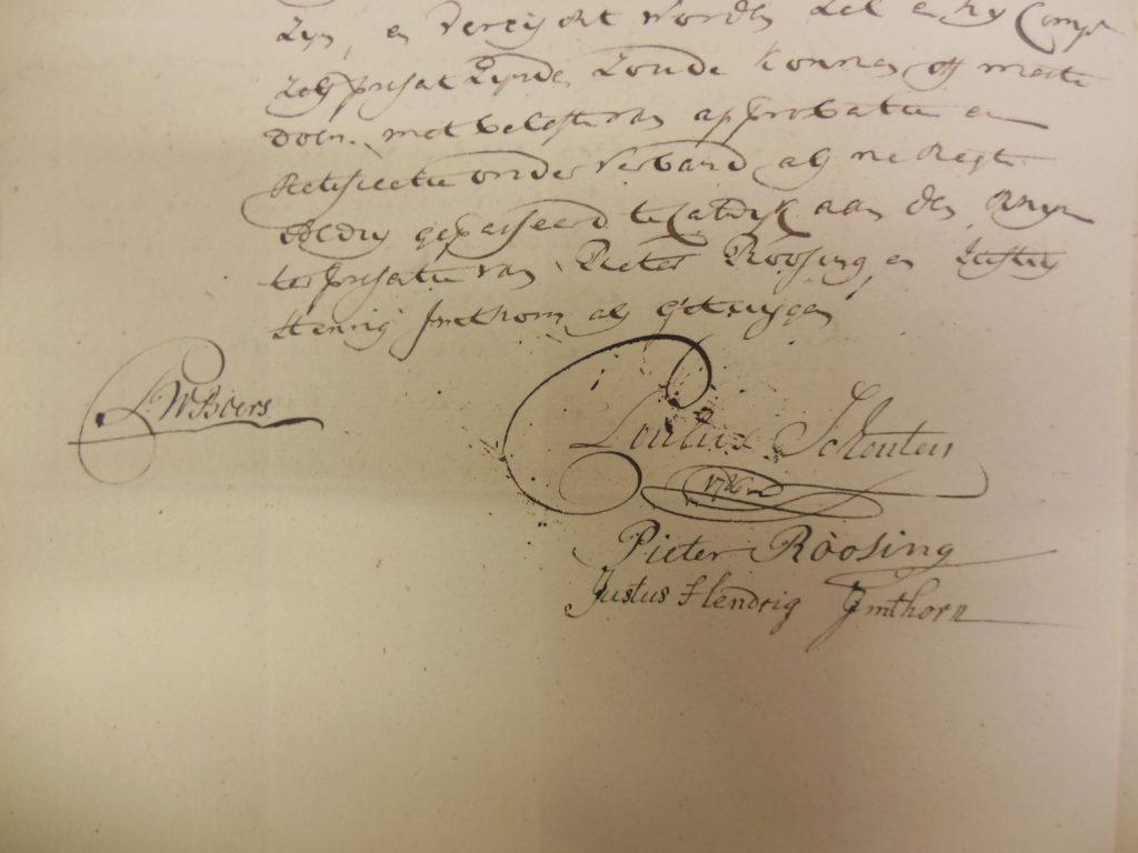 20.3.1786. Justus Hendrik getuige. [NA-3.03.08.072-inv.nr. 22]