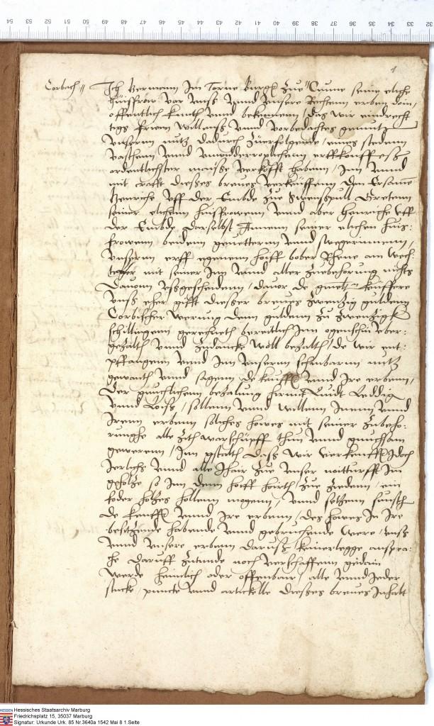 Waldecker Urkunde (85