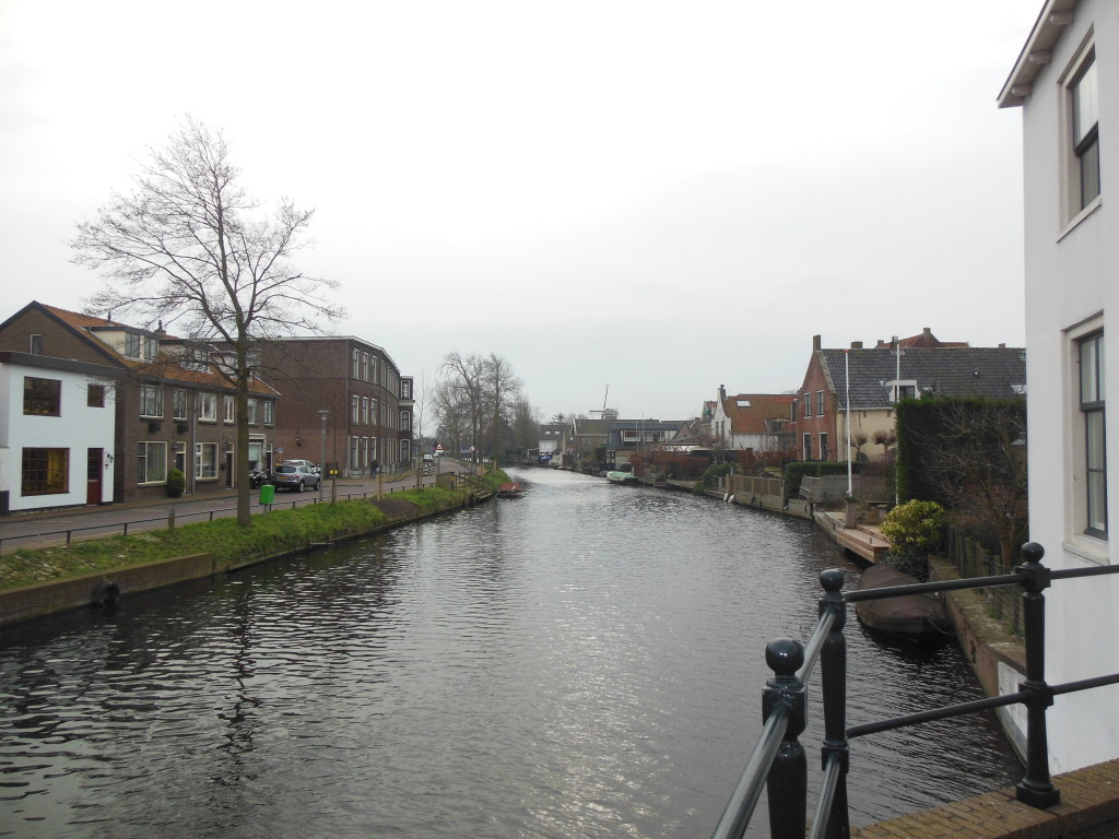 De Rijn in Katwijk aan den Rijn in 2016
