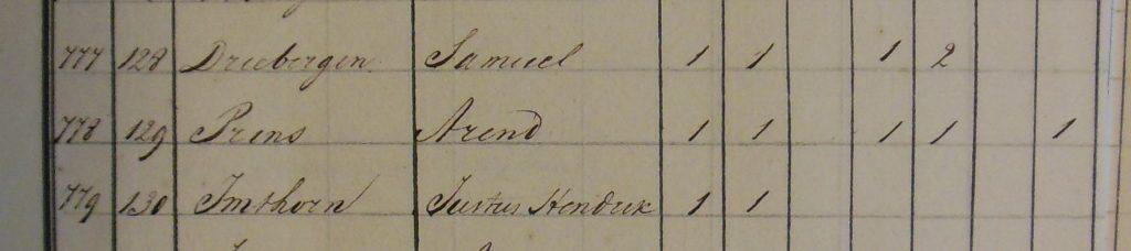 Samuel Driebergen 1826
