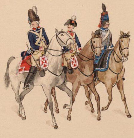Garde ruiters 1794