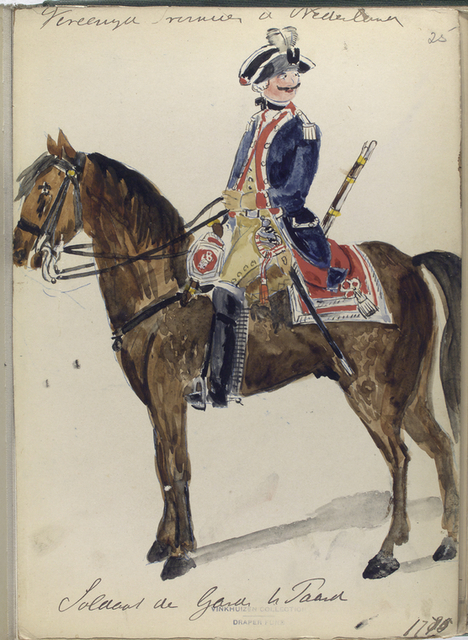 soldaat garde te paard