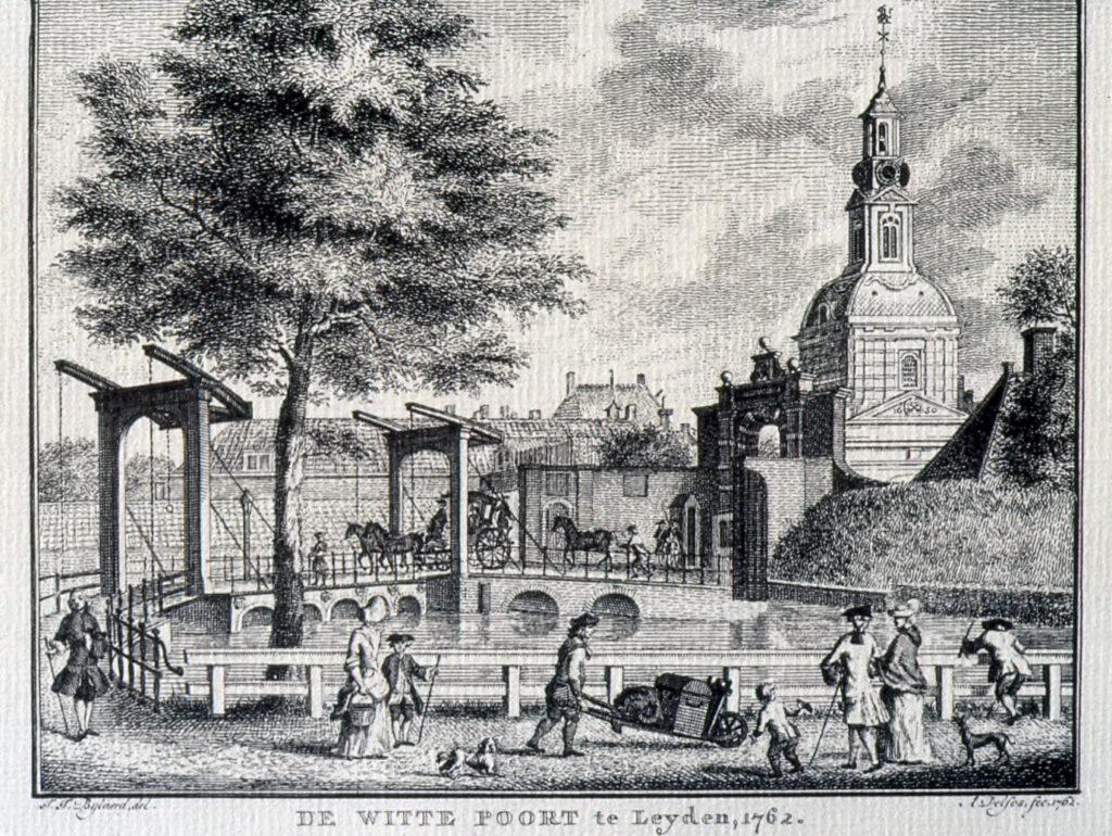 Witte Poort Leiden in 1762