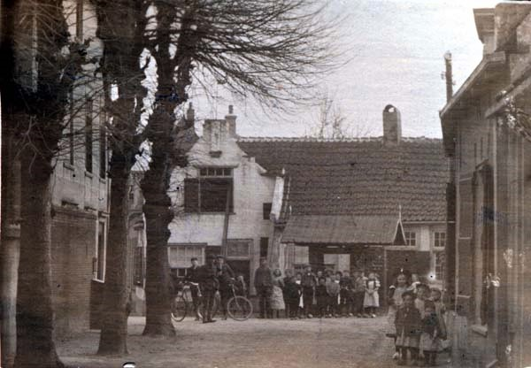 Valkenburg Zuid-Holland omstreeks 1900