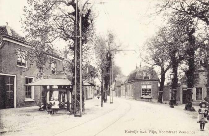 Katwijk Voorstraat in 1912